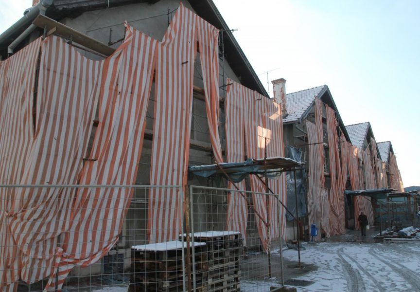 Dovršetak radova na kolodvorskoj zgradi kasni već dva mjeseca
