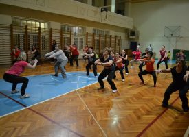 Prvi trening okupio tridesetak vježbača