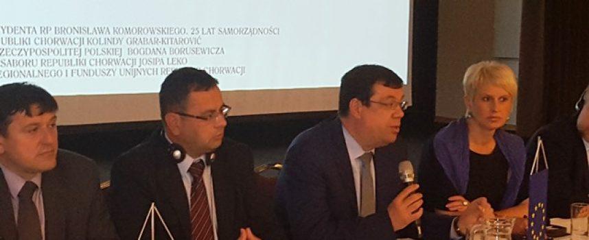 Župan Damir Bajs na 4. Forumu regija Poljske i Hrvatske