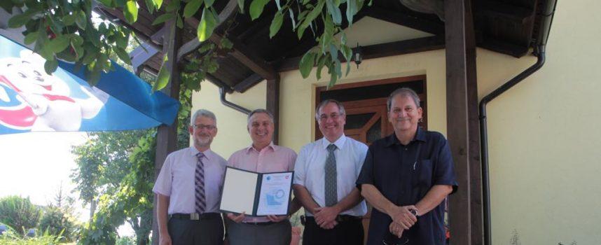 Distribuciji plina prestižni ISO certifikat