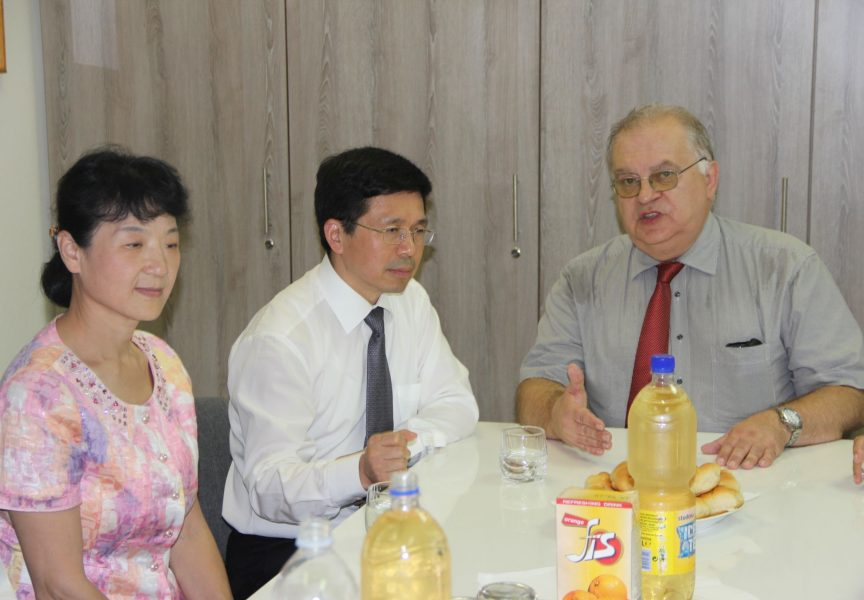 Kineski liječnici u Općoj bolnici Bjelovar