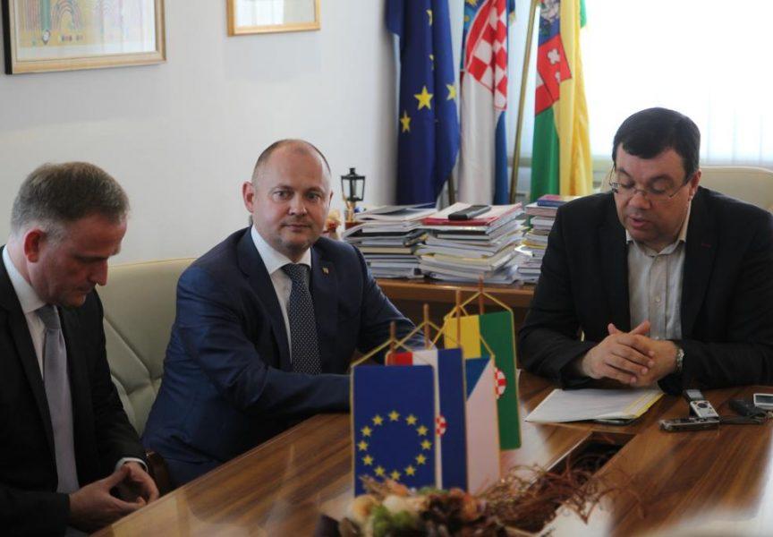 Češki župan u posjeti bjelovarsko-bilogorskom kolegi