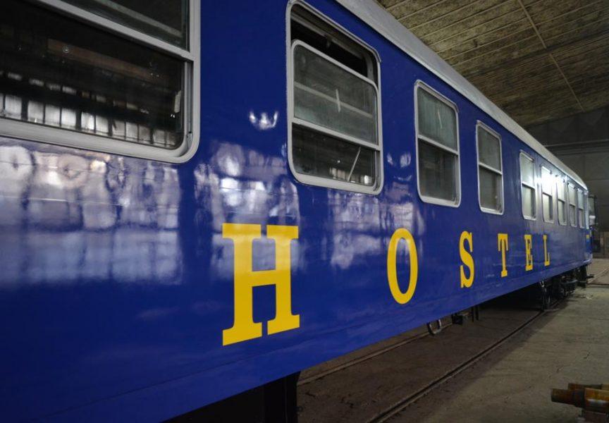 U Bjelovaru se uređuje prvi hostel na tračnicama