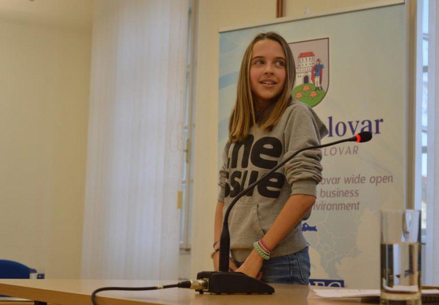 Jana Brestovečki je nova dječja gradonačelnica Bjelovara