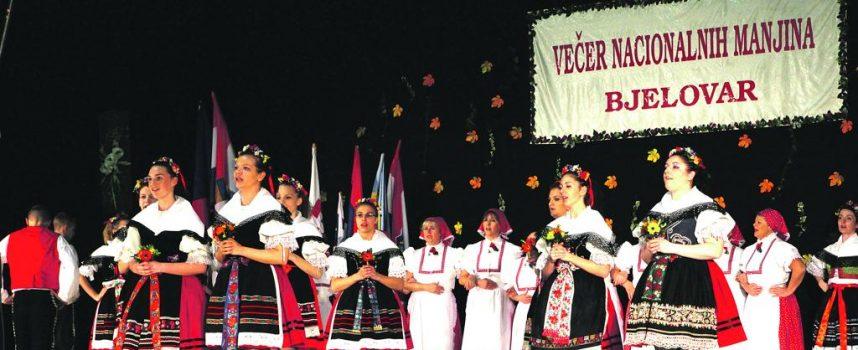 Na devetoj Večeri nacionalnih manjina 400 izvođača