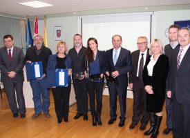 HRVATSKA GOSPODARSKA KUNA Dodijeljena tradicionalna poslovna priznanja