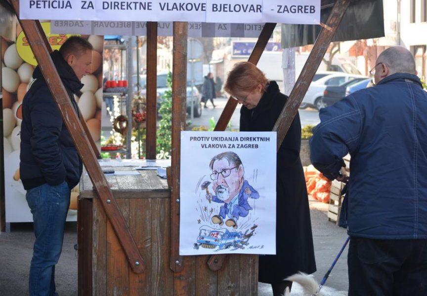 UKIDANJE IZRAVNIH LINIJA Peticiju potpisalo više od 4.000 Bjelovarčana