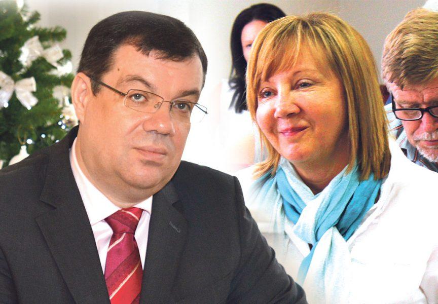 Đurđa Adlešič puna optimizma, a Damir Bajs pripremljenih projekata