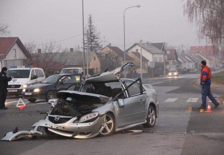 KOBNO RASKRIŽJE Nepravomoćna presuda za prometnu nesreću na južnoj obilaznici