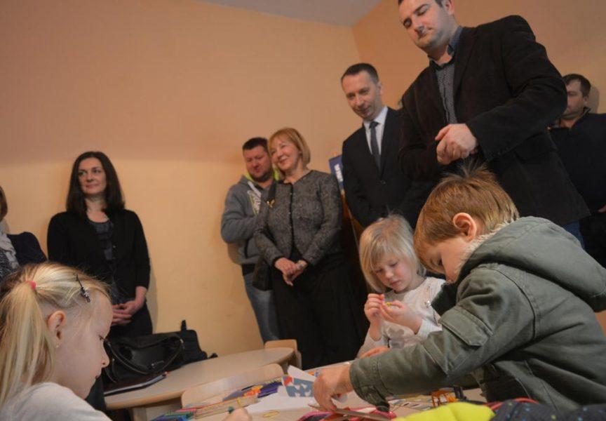 VELIKI DAN ZA MALU OPĆINU U Zrinskom Topolovcu uređena dječja igraonica