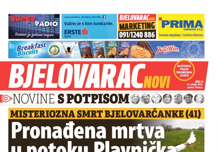 U Bjelovarcu novom donosimo: