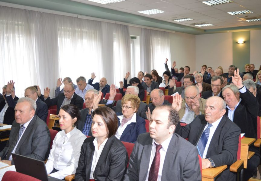 PROMIČBA BEZ TRUDA: Strankama koje čine Županijsku skupštinu godišnje se plaća 220 tisuća kuna