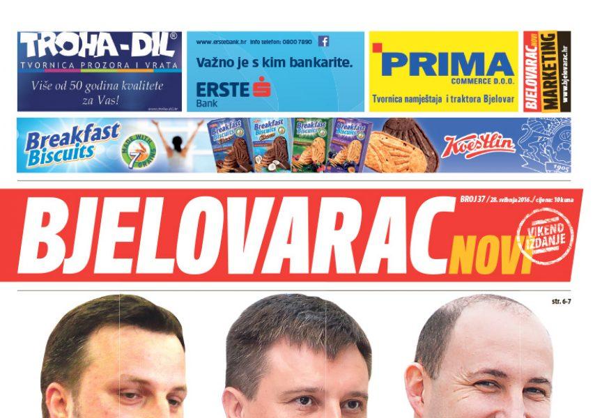 U vikend Bjelovarcu Novom pročitajte: