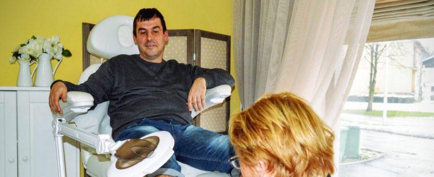 Odvažna reportaža iz bjelovarskog studija za medicinsku pedikuru