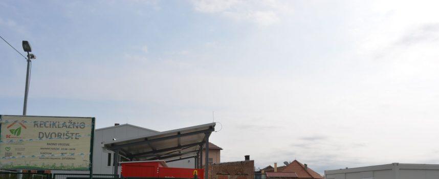 RECIKLAŽNO DVORIŠTE: Od prvog lipnja Bjelovarčani imaju gdje dovesti svoj otpad