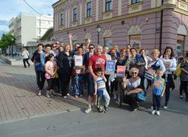 KURIKULARNA REFORMA Na spontanom prosvjedu 40-ak Bjelovarčana