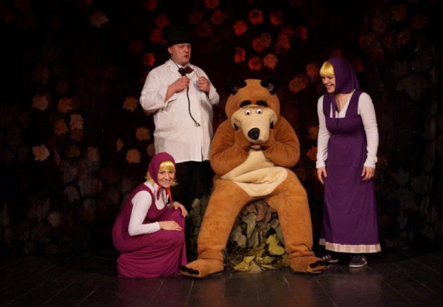 Predstava Maša i medvjed dolazi u Dom kulture