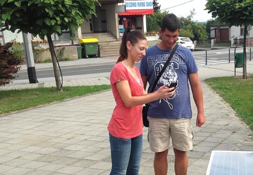 Čazma ima jednu, u Bjelovar stižu četiri pametne klupe