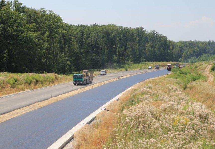 Zagorju gradnji i Geotehnici izgradnja 5 km jednotračne brze ceste prema Bjelovaru