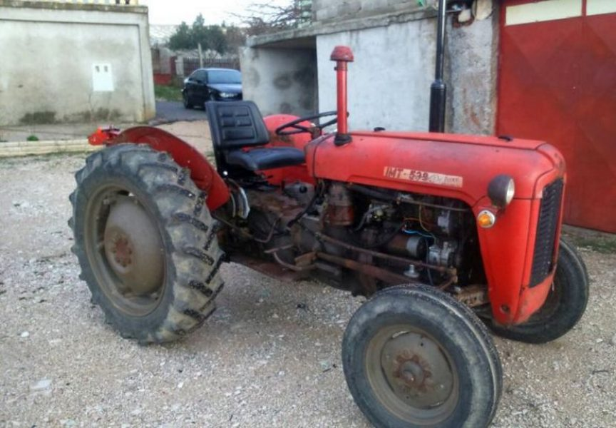 POLJO BANDA NA meti lopova čak i neispravni traktori