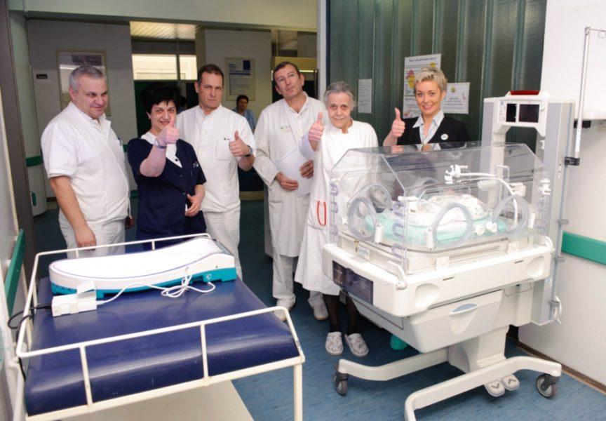 VRIJEDNA DONACIJA Bjelovarska bolnica dobila novi inkubator