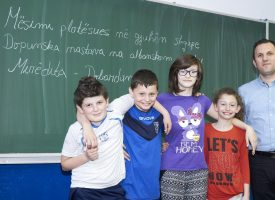 SLOBODNE AKTIVNOSTI U Drugoj osnovnoj školi uči se albanski jezik
