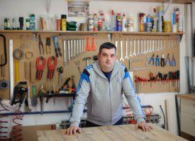 STOLARSKI ZANAT Darijo Slavin izrađuje sve što mušterije zažele