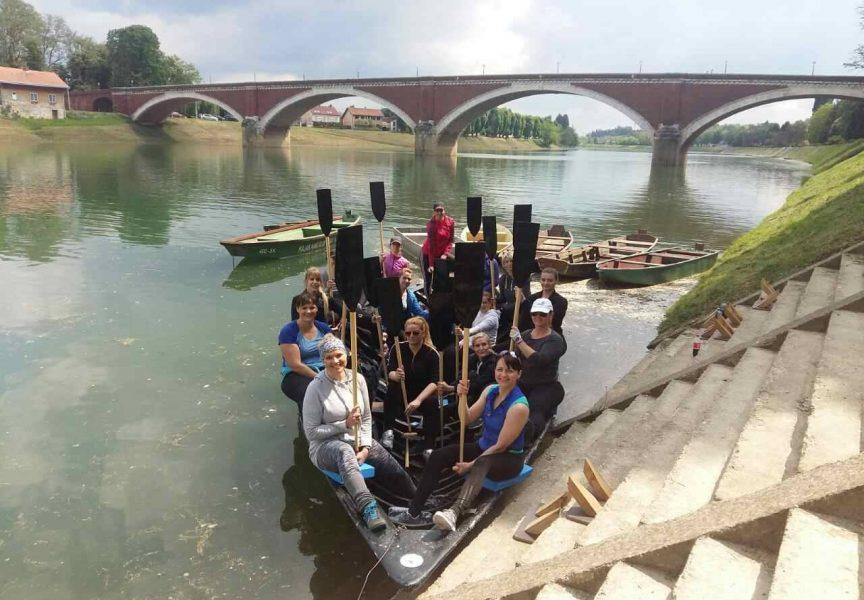 ODVAŽNE NEREIDE Bjelovar dobio svoju prvu žensku veslačku ekipu