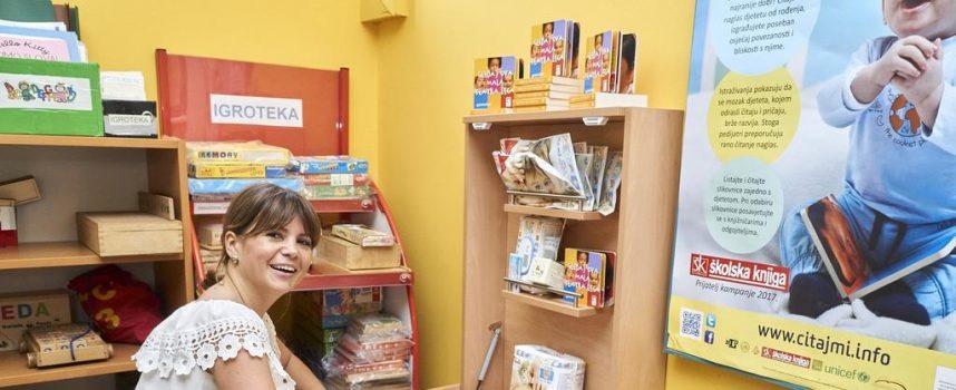 MJESTO ZA MAME I BEBE Bjelovarska knjižnica dobila status Prijatelj dojenja