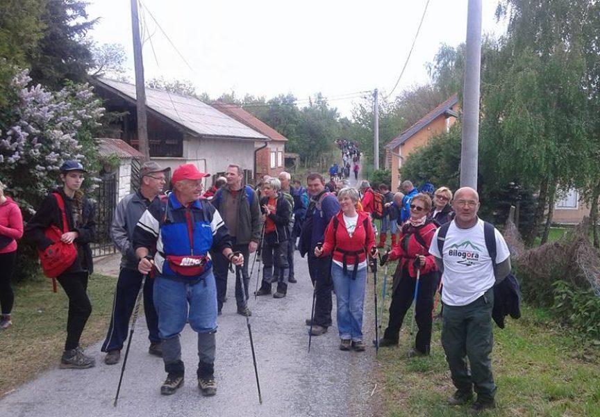 PROLJEĆE NA BILOGORI Šetnjom po Bilogori planinari otvorili sezonu