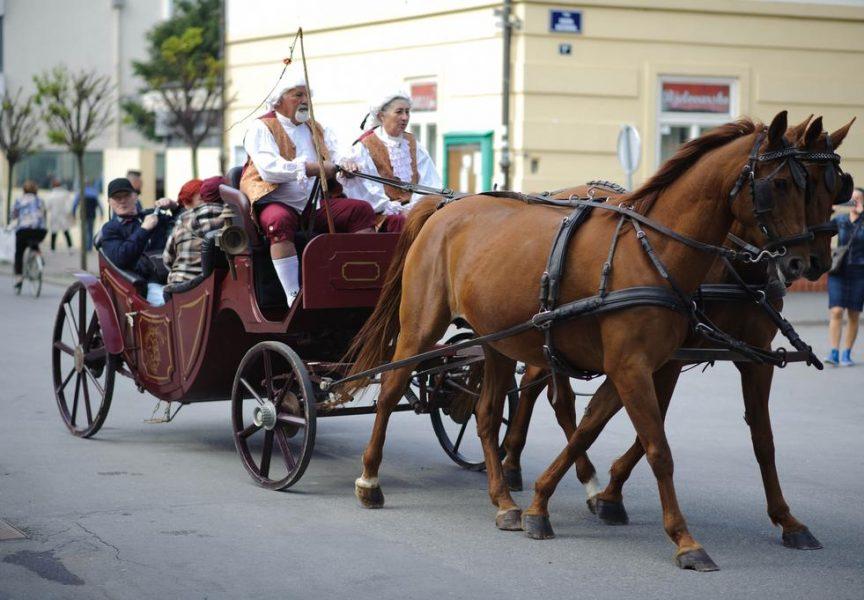 JEDINSTVEN TURISTIČKI PAKET U carskim kočijama provezli se centrom Bjelovara