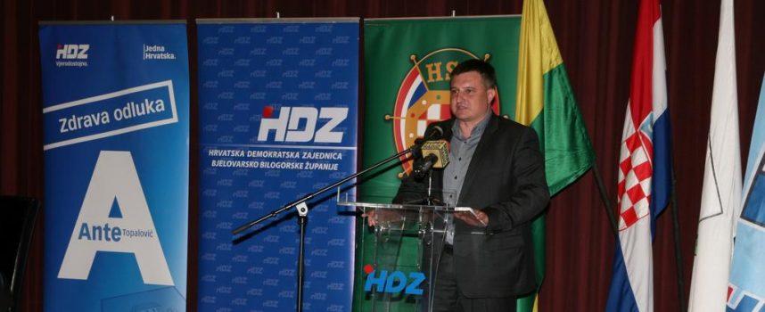 MIRO TOTGERGELI, kandidat za župana koalicije HDZ-HSS-HSLS u Bjelovaru okupio trojicu ministra