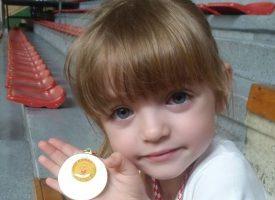 USPJEH Najmlađa mažoretkinja Renata Špoljar u Daruvar donijela zlato