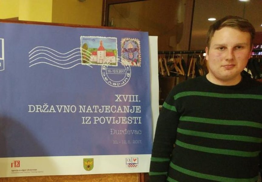 GIMNAZIJA BJELOVAR Josip Imbrišak četiri godine za redom najbolji je hrvatski povjesničar