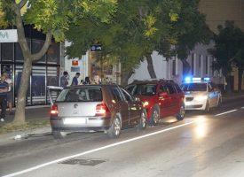 SUDAR U STROGOM CENTRU GRADA Vozači bez težih ozljeda