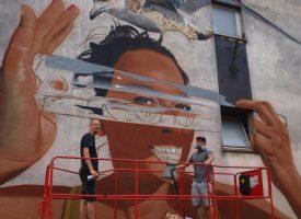 NOVI MURAL Nizozemski umjetnici naslikali novi mural u centru grada i objasnili njegovo značenje