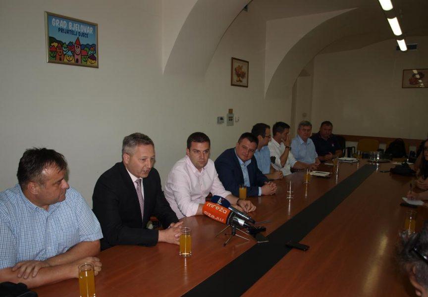 SVI GRADONAČELNICI NA JEDNOM MJESTU Hrebak okupio sve gradonačelnike naše županije