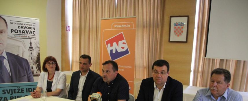 PODRŠKA Međimurski župan Matija Posavec podržao Davorina Posavca u kandidaturi za gradonačelnika