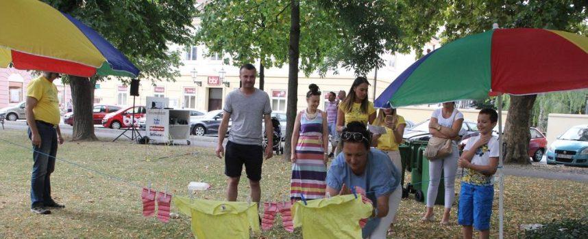 OZI U središnjem parku održane prve Obiteljske zabavne igre