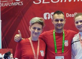 OI ZA GLUHE I NAGLUHE Super Sara sa olimpijskim srebrom oko vrata
