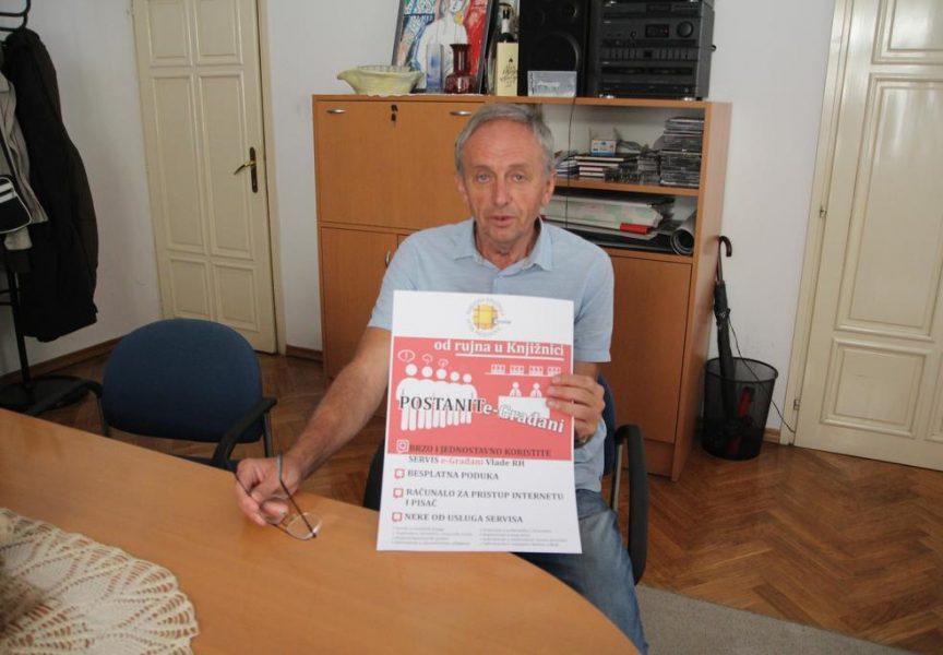 NARODNA KNJIŽNICA P. PRERADOVIĆ Dostupni računalo i printer za korištenje sustava e – Građani