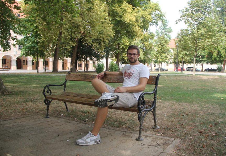 ZVIJEZDA U USPONU Antonio Jakupčević, mladi bjelovarski glumac o kojem ćemo još puno slušati