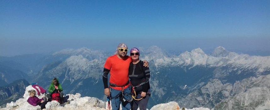 USPON Ivančica Čikor prva je Čazmanka na vrhu Triglava