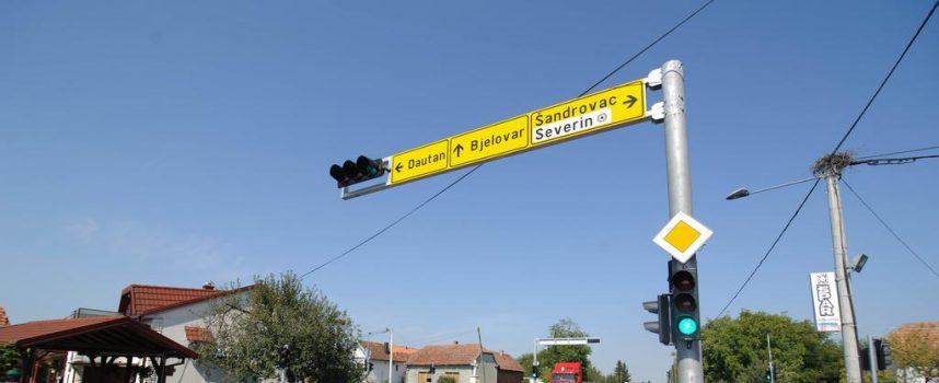 KONAČNO Severin dobio novi semafor na glavnoj cesti