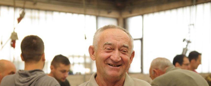 PRISJEĆANJE VETERANA Ante Egredžija odradio je 39 godina staža u propaloj bjelovarskoj tvrtki
