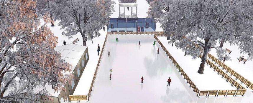GRADSKO KLIZALIŠTE BJELOVAR Gotovo 500 kvadrata ledene plohe u središta grada za zabavu građana