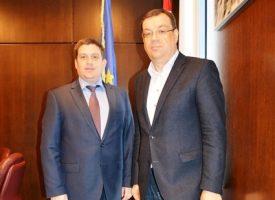 RADNI SASTANAK Župan Bajs i ministar Butković razgovarali o strateškim prometnim projektima za BBŽ