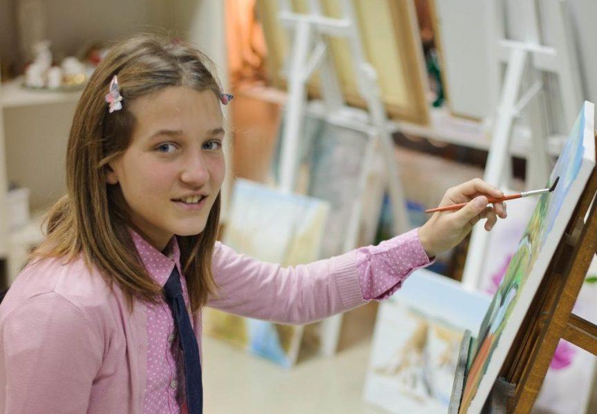 MLADA UMJETNICA Slike 13-godišnje Hane Berak oduzimaju dah