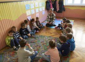 PROGRAM PREDŠKOLE Mališani vježbaju motoriku i stječu osnovne navike za prvi razred