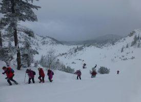 ALPINIZAM Bjelovarski planinari i u hladnim zimskim mjesecima ne miruju